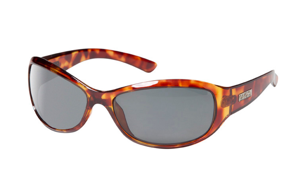 Ono's™ Polarized Sunglasses: Harbor Docks in Tortoise & Grey