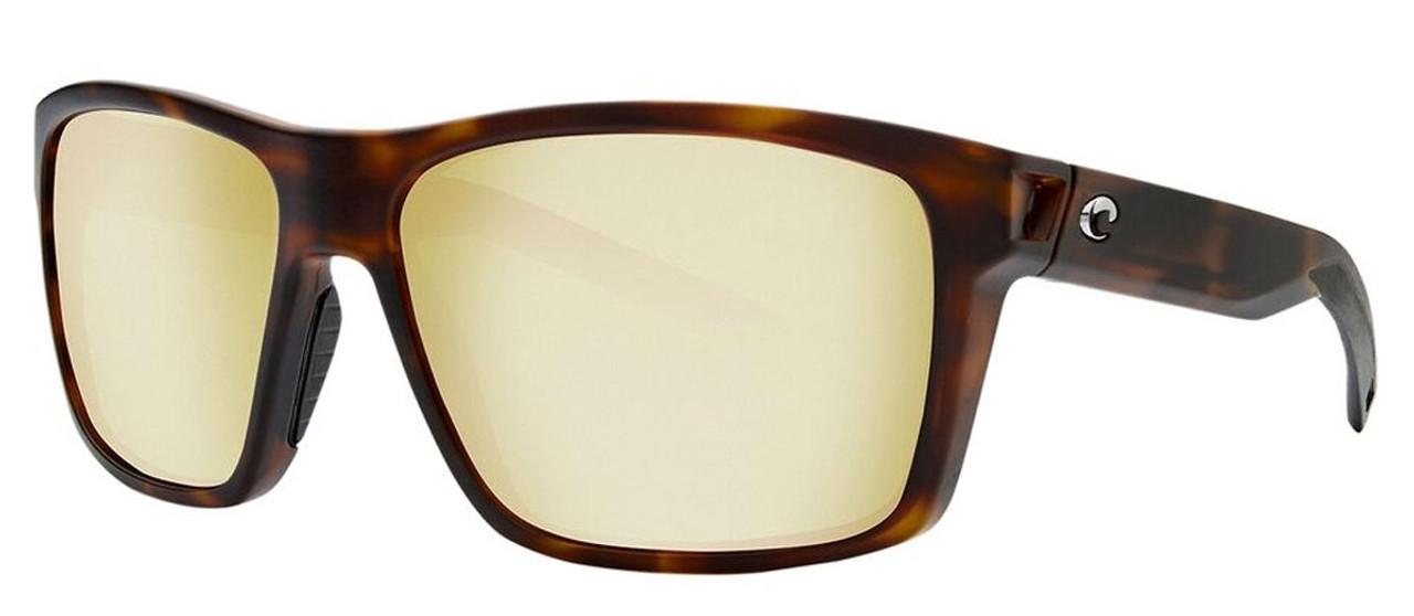 Costa Del Mar Slack Tide Polarize Sunglasses Tortoise/Silver Sunrise Mirror 580P