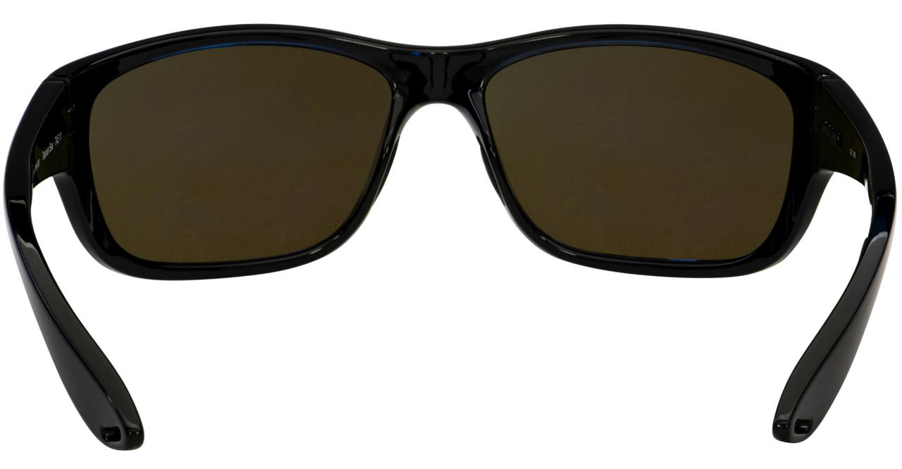 Costa Del Mar Tasman Sea Polarized Sunglasses Black/Blue Mirror 580G Glass 63 mm