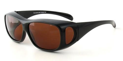 Black Frame & Copper Lens