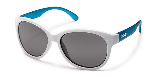 White Aqua - Grey