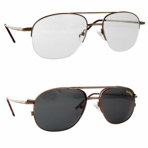 Magnetic Clip-On 215 Polarized Reading Sunglasses
