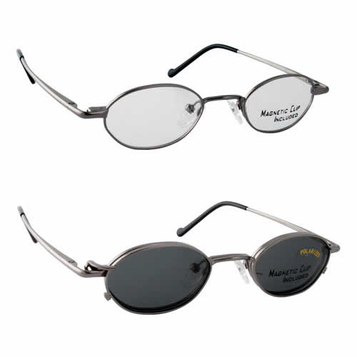 Magnetic Clip-On 230 Polarized Reading Sunglasses