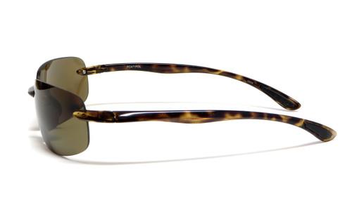 Grand Banks Polarized Sunglasses: 471POL in Tortoise & Amber