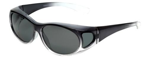 Calabria P2866POL-2T Polarized Fit-Over Sunglasses Medium Size