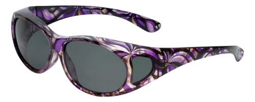 Calabria P2866POL-JP2 Polarized Fit-Over Sunglasses Medium Size