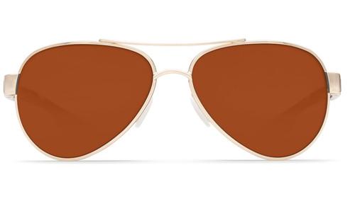 Copy of Costa Del Mar Loreto 580G Polarized Sunglasses in Rose Gold & Copper Lens
