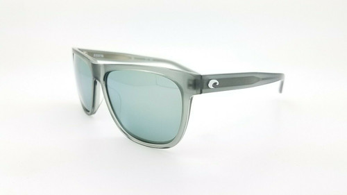Costa Del Mar Apalach Polarized Sunglasses Crystal/Gray Silver Mirror 580G Glass