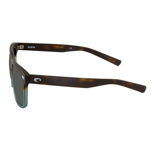 Costa Del Mar Aransas Polarized Sunglass Tide Pool Brown/Grey Silver Mirror 580G