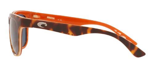 Costa Del Mar Copra Polarize Sunglasses Shiny Tortoise Brown Gold/Grey 580P 52mm