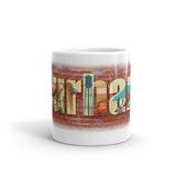Durham Block Letters Coffee Mug