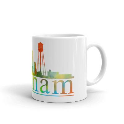 Durham Watercolor Coffee Mug