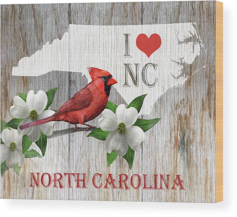 I love North Carolina Wood Panel