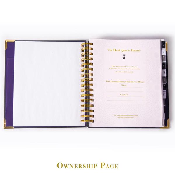 Vol. III Flagship Ankara Daily Planner