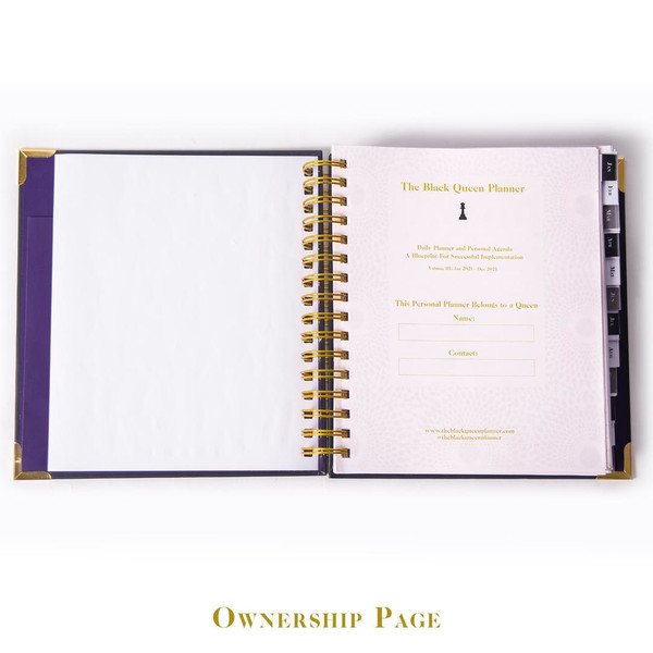 Vol. III Flagship Luxe Daily Planner
