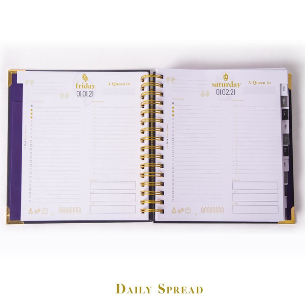 Vol. III Vibrant Roots Daily Planner (Pre-Order)