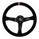 Suede LZMFG Steering Wheel