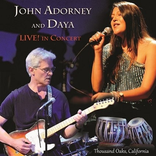 John Adorney and Daya LIVE in concert CD - FREE SHIPPING