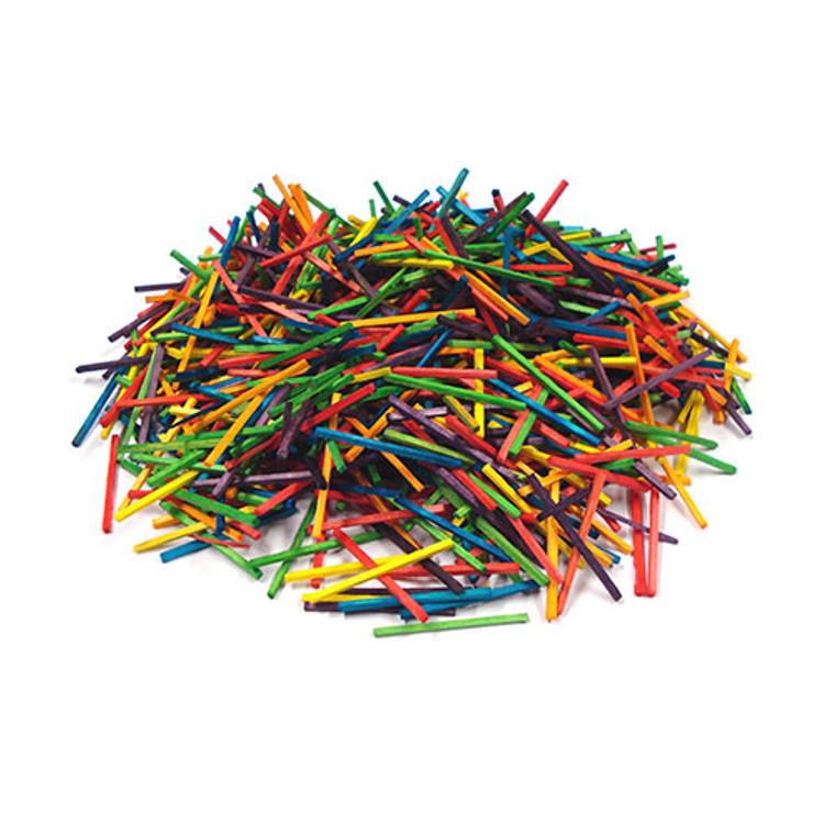 Wooden Matchsticks Coloured