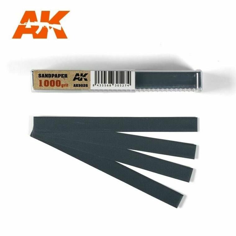 Sandpaper- Wet, 1000 grit x 50 Units - AK09026