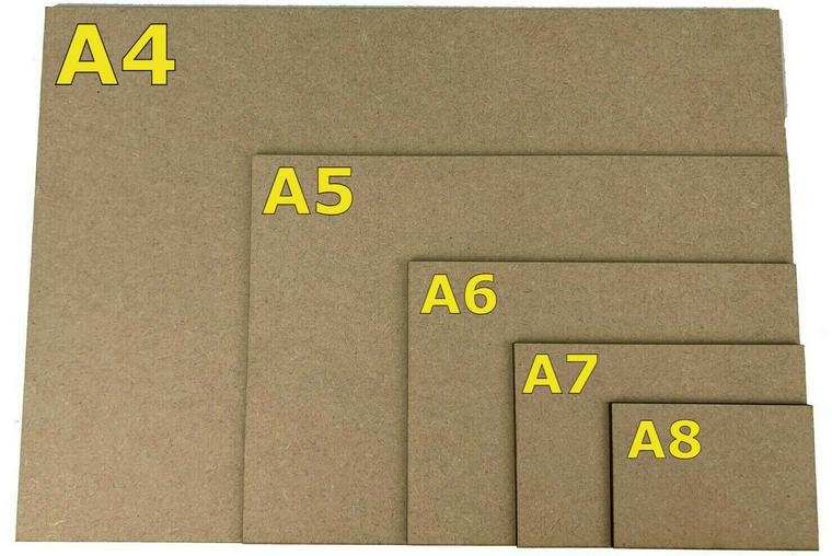 Diorama Base Board - A4 / 3mm