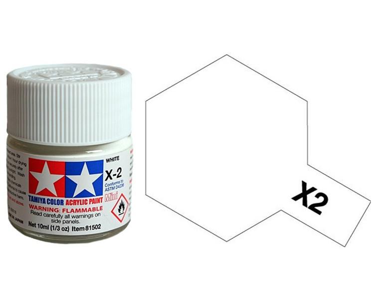 X-2 White