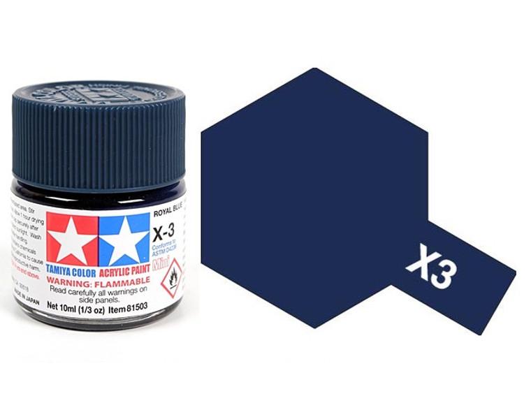 X-3 Royal Blue