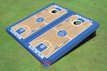 University Of Kentucky Rupp Arena Matching Basketball Court Themed Cornhole Boards