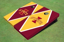 "Iowa State University ""I"" Alternating Diamond Cornhole Boards"