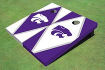 Kansas State University Wildcats Alternating Diamond Cornhole Boards
