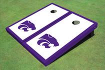 Kansas State University Wildcats Purple Matching Border Cornhole Boards