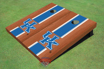 University Of Kentucky Blue Rosewood Matching Long Stripe Cornhole Boards
