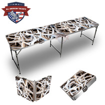 Antler Stacked Themed 8ft Tailgate Table