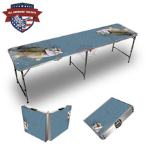 Bass Out Of Water Themed 8ft Tailgate Table