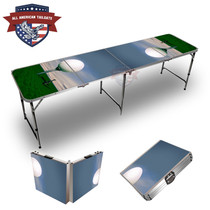 Big Golf Ball Themed 8ft Tailgate Table