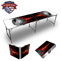 Black Sports Cars Themed 8ft Tailgate Tables