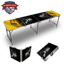 Camero Yellow Themed 8ft Tailgate Table