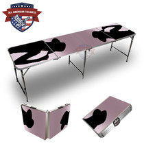 Cowgirl #2 Themed 8ft Tailgate Table