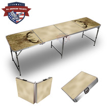 Deer In Grass Themed 8ft Tailgate Tables