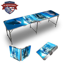Dolphins Themed 8ft Tailgate Tables