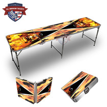 Fire Fighter Triangle Themed 8ft Tailgate Table