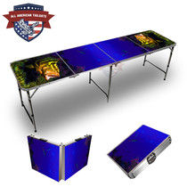Fish And Reef #1 Themed 8ft Tailgate Table