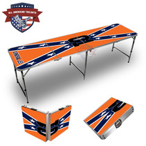 General Lee Themed 8ft Tailgate Tables