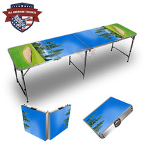 Golf Bunker Themed 8ft Tailgate Table