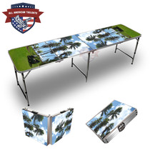 Golf Palms Themed 8ft Tailgate Table