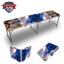 Harley Desert Themed 8ft Tailgate Table