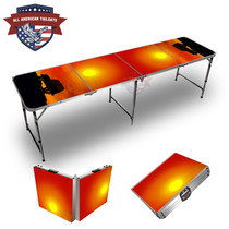 Jeep Sunset Themed 8ft Tailgate Table