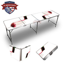 Red Wine Themed 8ft Tailgate Tables