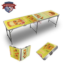 Tiki Bar #1 Themed 8ft Tailgate Table