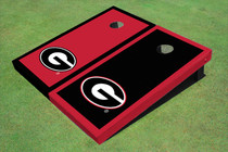 "University Of Georgia ""G"" Alternating Border Cornhole Boards"